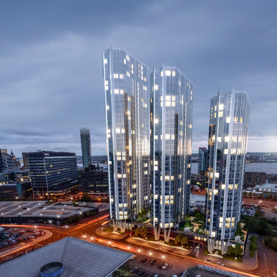 Elliot Group submits application for £250m triple towers