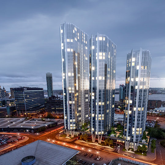 Four towers that will change the face of Liverpool APPROVED by planners