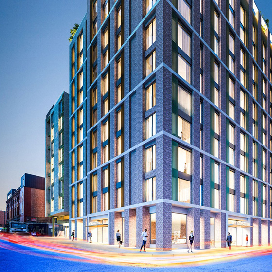 Application in for Wolstenholme resi extension